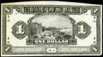CHINA--FOREIGN BANKS. Bank of Canton Limited. $1, 1.1.1920. P-S153Fp.