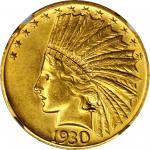 1930-S Indian Eagle. AU-58 (NGC).