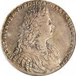 RUSSIA. Ruble, 1728. Kadashevsky Mint. Peter II. PCGS Genuine--Tooled, EF Details Gold Shield.