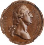 Circa 1881 George Washington / Chester Arthur medal. Musante-Unlisted, Baker-Unlisted. Bronze. MS-64