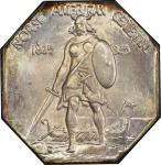 1925 Norse-American Centennial Medal. Silver. Swoger 24Ba-wv3. Thick Planchet. MS-67+ (PCGS). CAC.