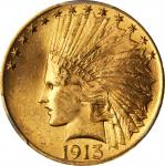 1913 Indian Eagle. MS-65 (PCGS).