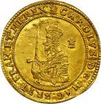 英国查理一世Triple Unite金币 NGC MS 61