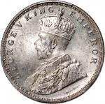 1920C印度1卢比银币,PCGS MS64