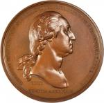 1776 Washington Before Boston Medal. Bronze. 69 mm. U.S. Mint Restrike. Musante GW-09-US2, Baker-49B