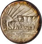 1934-D Oregon Trail Memorial. MS-66 (NGC). OH. CAC.