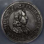 HOUSE OF HABSBURG Ferdinand Karl フェルディナント・カール大公(1632~62) 2Taler ND(1646) NGC-AU50 -EF