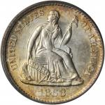 1868-S Liberty Seated Half Dime. MS-63 (PCGS). CAC.