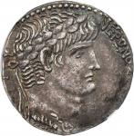NERO, A.D. 54-68. Syria, Seleucis and Piera, Antioch. AR Tetradrachm (15.25 gms), RY 8 & Year 110 of
