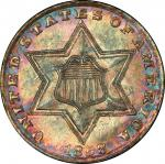 1858 Silver Three-Cent Piece. MS-67 (PCGS). CAC.