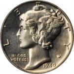 1940 Mercury Dime. Proof-66 (PCGS). OGH.