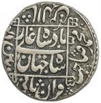 Lot 2406 MUGHAL: Shah Jahan I, 1628-1658, AR rupee 4011.46g41, Pattan Deo, AH1047 year 10, KM-235.21