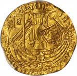 英国。爱德华四世,一世(1461-70)1/2 Ryal金币。