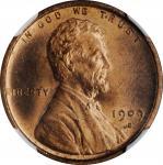 1909-S Lincoln Cent. V.D.B. MS-64 RB (NGC).