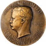 1905罗斯福就职勋章 PCGS SP 64
