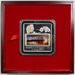 2008年第29届奥林匹克运动会(第3组)纪念金对砖2套 近未流通 two sets of commemorative medallions for the Beijing Olympics, 200