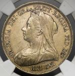 GREAT BRITAIN Victoria ヴィクトリア(1837~1901) 5Pounds1893 NGC-XF45 VF+
