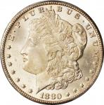 1880/79-CC Morgan Silver Dollar. VAM-4. Top 100 Variety. Reverse of 1878. MS-66 (PCGS).