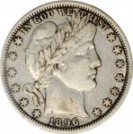 1896-O Barber Half Dollar. VF-35 (PCGS).