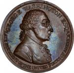 Circa 1800 Westwood medal. Second reverse. Musante GW-83, Baker-80A. Copper, Bronzed. MS-64 (PCGS).