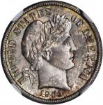 1903-S Barber Dime. MS-66 (NGC).