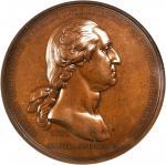 1776 (ca. 1890) Washington Before Boston Medal. Second U.S. Mint Issue. Bronze. Musante GW-09-US2, B