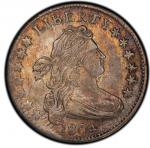1804 Draped Bust Dime. 14 Star. John Reich-2. Rarity-5. About Uncirculated-58 (PCGS). PCGS Popu