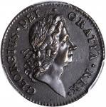 1722 Rosa Americana Penny. Martin 2.23-C.6, W-1264. Rarity-4. UTILE DULCI. AU-55 (PCGS).