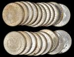 Lot of (200) 1889 Morgan Silver Dollars. Average MS-60 to MS-62.
