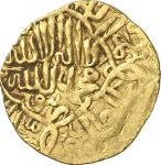 LE MONDE ARABE TIMURID  MUGHAL THE FIRST APPEARANCE OF THE GOLD COIN STRUCK BY BABUR, THE FIRST MOGH