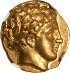 MACEDON. Kingdom of Macedon. Philip II, 359-336 B.C. AV Stater (8.59 gms), Amphipolis Mint, ca. 340-