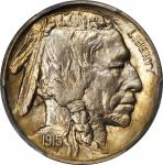 1915-S Buffalo Nickel. MS-65+ (PCGS). CAC.