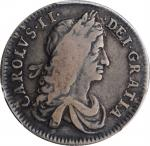 GREAT BRITAIN. Shilling, 1663. London Mint. Charles II. PCGS VF-25 Gold Shield.