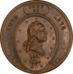 Circa 1875 Assumed Command medal by George H. Lovett, published by Isaac F. Wood. Musante GW-857, Ba