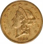 1856-S Liberty Head Double Eagle. EF-45 (PCGS). CAC.
