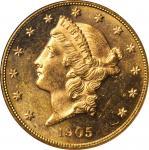 1905-S Liberty Head Double Eagle. MS-63 (NGC).