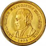 1904 Lewis and Clark Exposition Gold Dollar. MS-65 (PCGS).