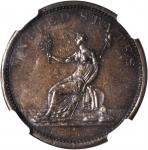 1851 Washington Draped Bust Copper / Melbourne Kangaroo Mule. Baker-3M, Vlack MEL-K, W-10400. Specim