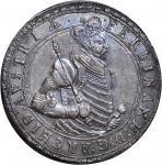 AUSTRIA. 2 Taler, ND. Einsisheim Mint. Archduke Ferdinand II (1564-95). NGC AU-55.