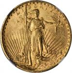 1914-S Saint-Gaudens Double Eagle. MS-64 (NGC).