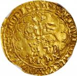 FRANCE. Agnel dOr, ND (1417-22). Charles VI. NGC AU-55.