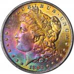 1884-O Morgan Silver Dollar. MS-64 (PCGS). OGH--First Generation.