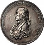 1809 James Madison Indian Peace Medal. Silver. First Size. Julian IP-5, Prucha-40. Extremely Fine.