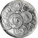 CHINA. 3.3 Ounce Medal, 1991. Panda Series, 10th Anniversary. NGC MS-68.