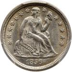 1856-O Liberty Seated Dime. PCGS MS62