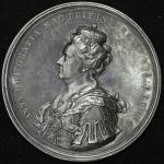 GREAT BRITAIN Anne アン(1702~14) AR Medal 1707 トーン VF+