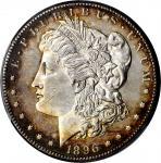 1896-S Morgan Silver Dollar. MS-62 (PCGS).