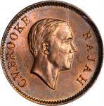 SARAWAK. Cent, 1941-H. Heaton Mint. PCGS MS-65 Red Brown Gold Shield.