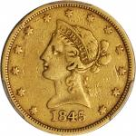 1845-O Liberty Head Eagle. VF-35 (PCGS).
