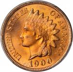 1900 Indian Cent. MS-66+ RD (PCGS). CAC.